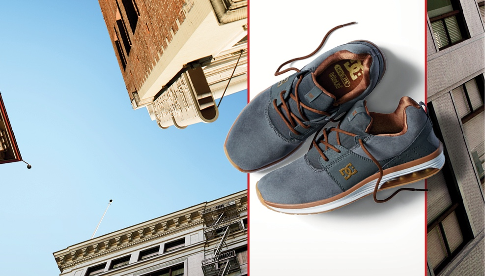 Product feature on the new DC Shoes Heathrow IA 2982bb4e46