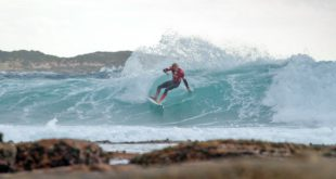 Adin Masencamp winning the Billabong Junior Series with impressive surfing skills