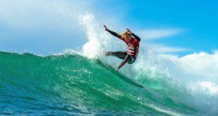 Adin Masencamp surfing his way to victory at the 2016 Billabong SA Junior Champs