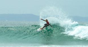 Ford van Jaarsveldt surfing at the 2016 Billabong SA Junior Champs