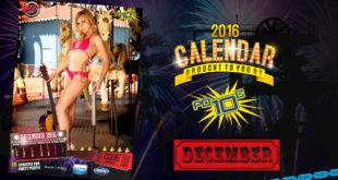 Go behind the scenes on our 2016 LW Mag Calendar shoot with our Miss December Calendar Girl, Carmi Wilmans.