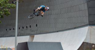 Wall Rider Soweto Theatre BMX Jam