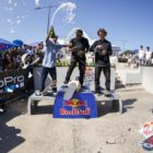 Red Bull Unlocked 2016 Podium