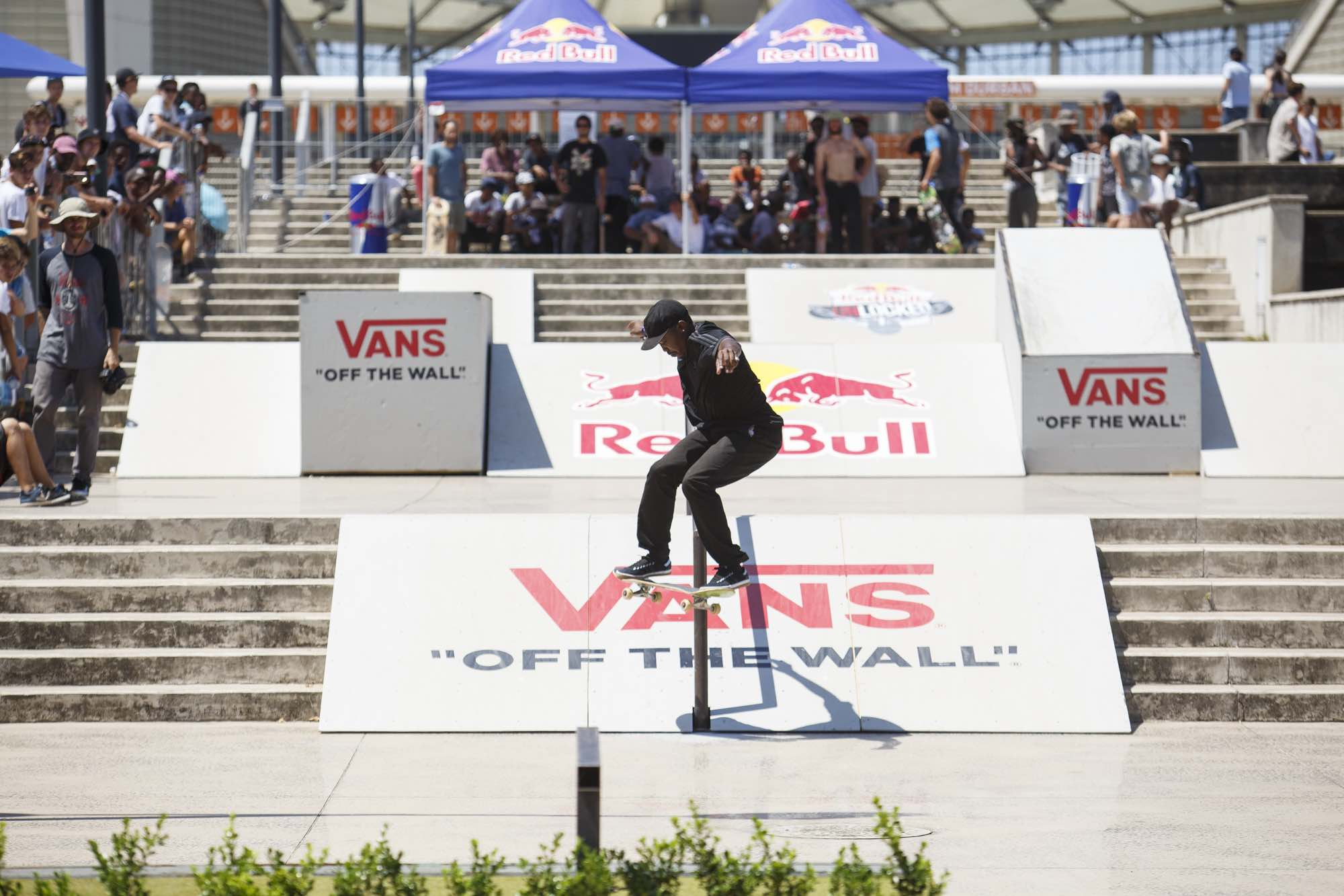 Dlamini Dlamini skating his way to victory at Red Bull Unlocked 2016