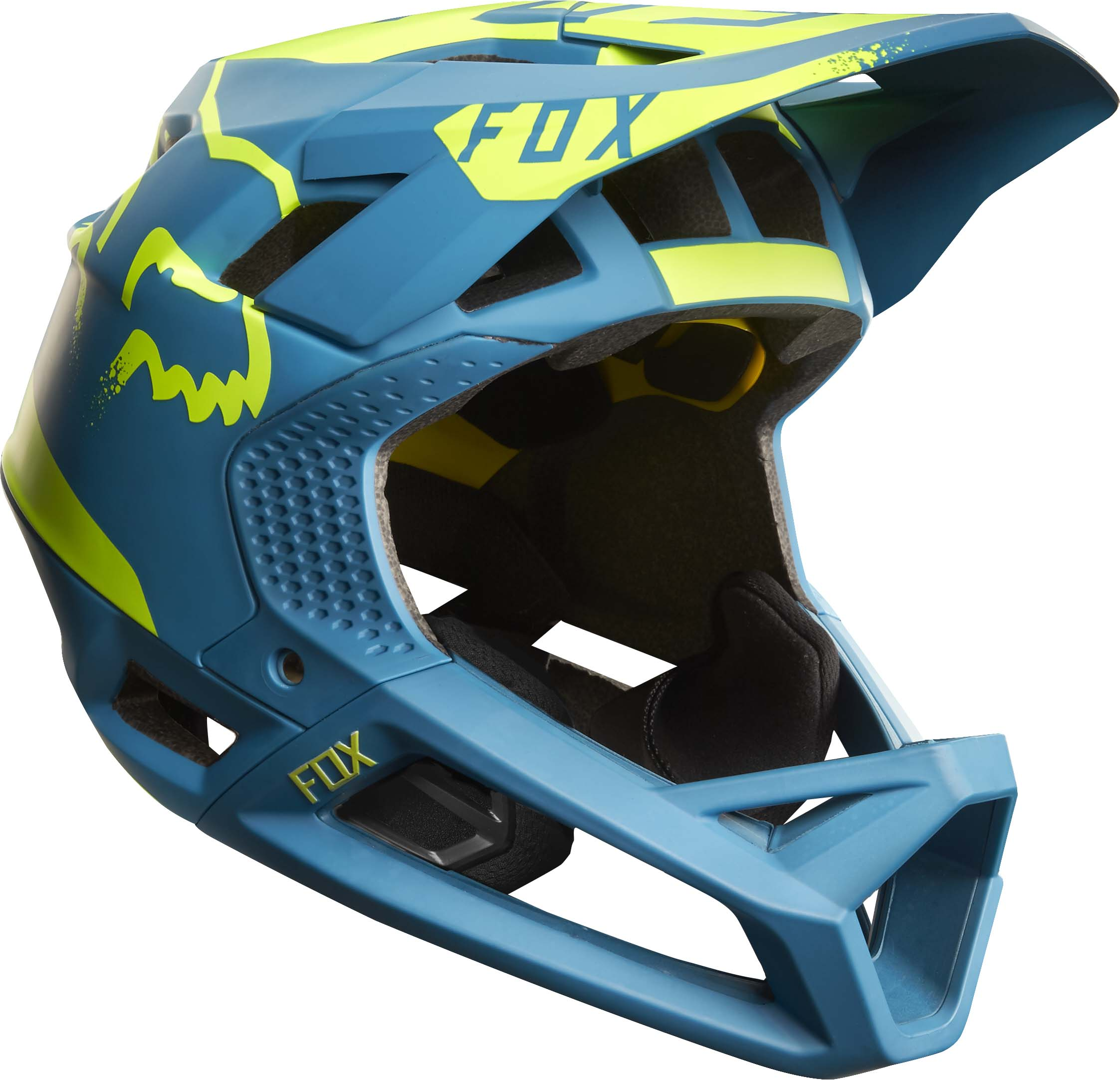 fox proframe helmet enduro mtb lw mag. Black Bedroom Furniture Sets. Home Design Ideas