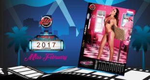 Video: Miss February 2017 Calendar Candice Sills