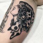 Tattoo work by Wesley von Blerk