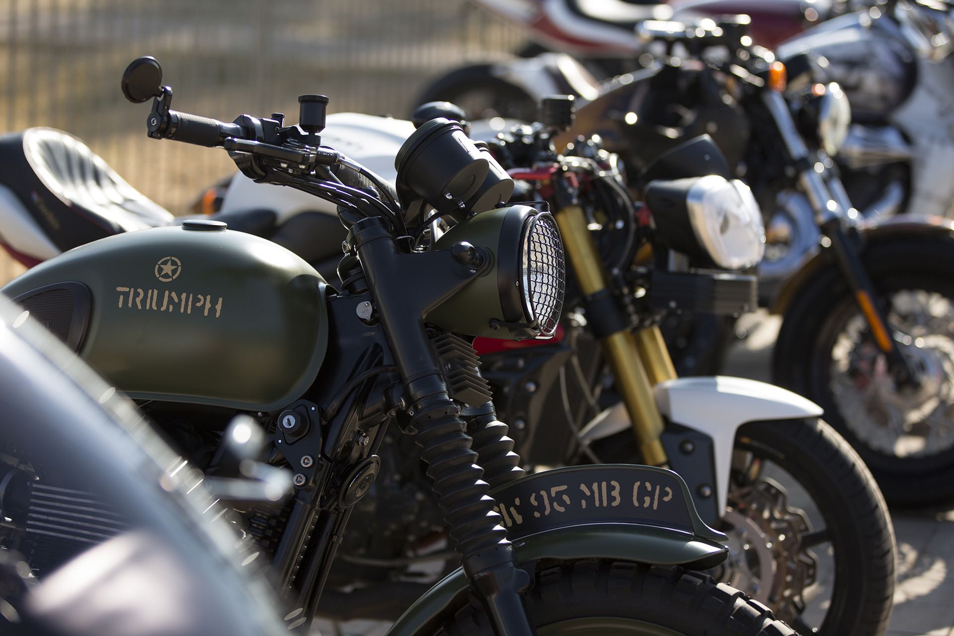 Test ride multiple motorcycle brand at the 2017 SA Bike Festival