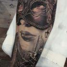 Realism tattoo by Nicholas Werner Taljaard