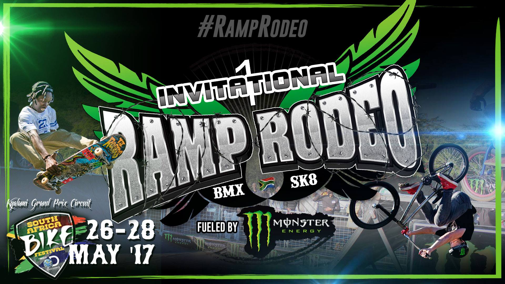 Ramp Rodeo BMX and Skate Invitational details