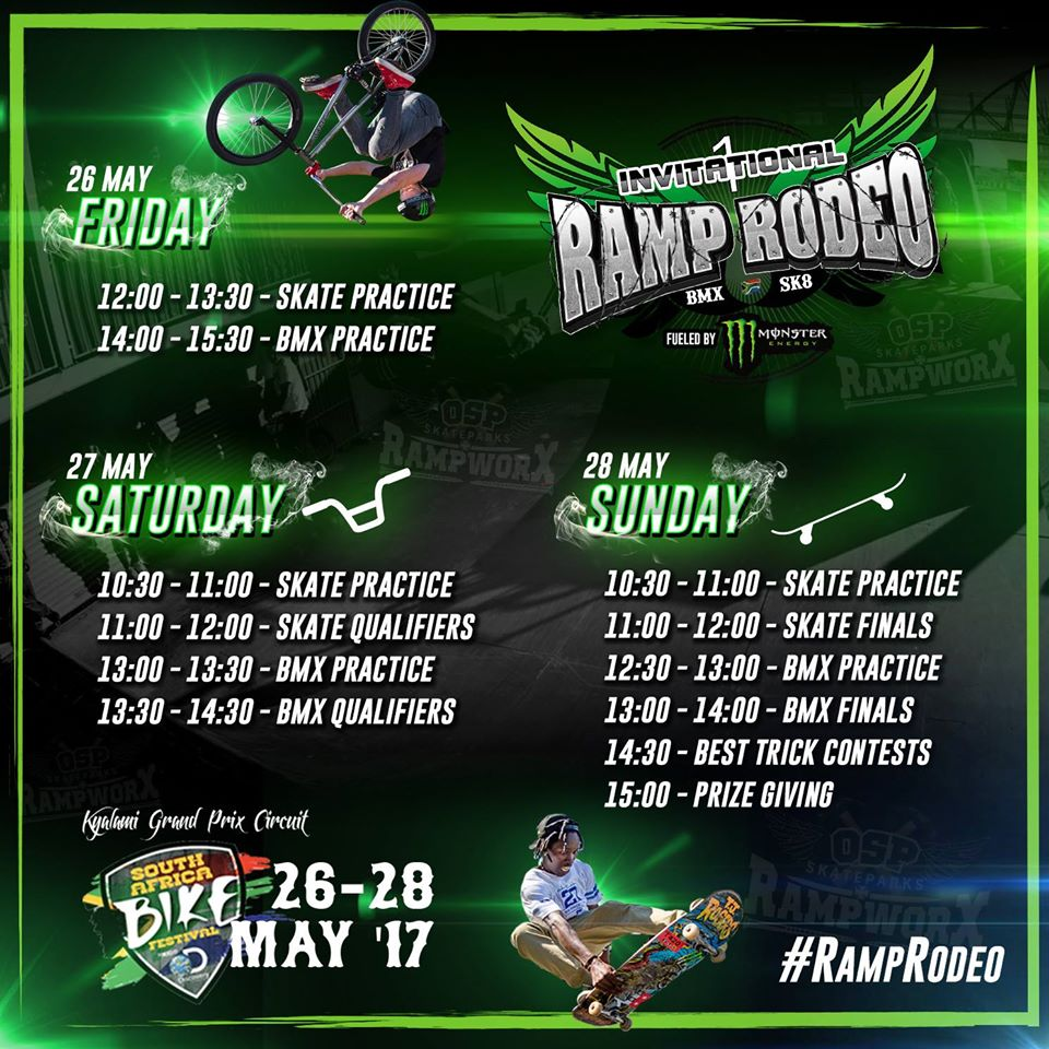 Ramp Rodeo BMX and Skateboarding Invitational details