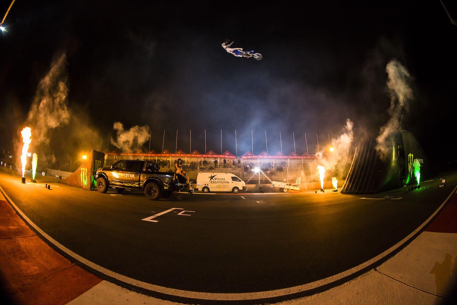 Monster Energy Freestyle Motocross Flight Night
