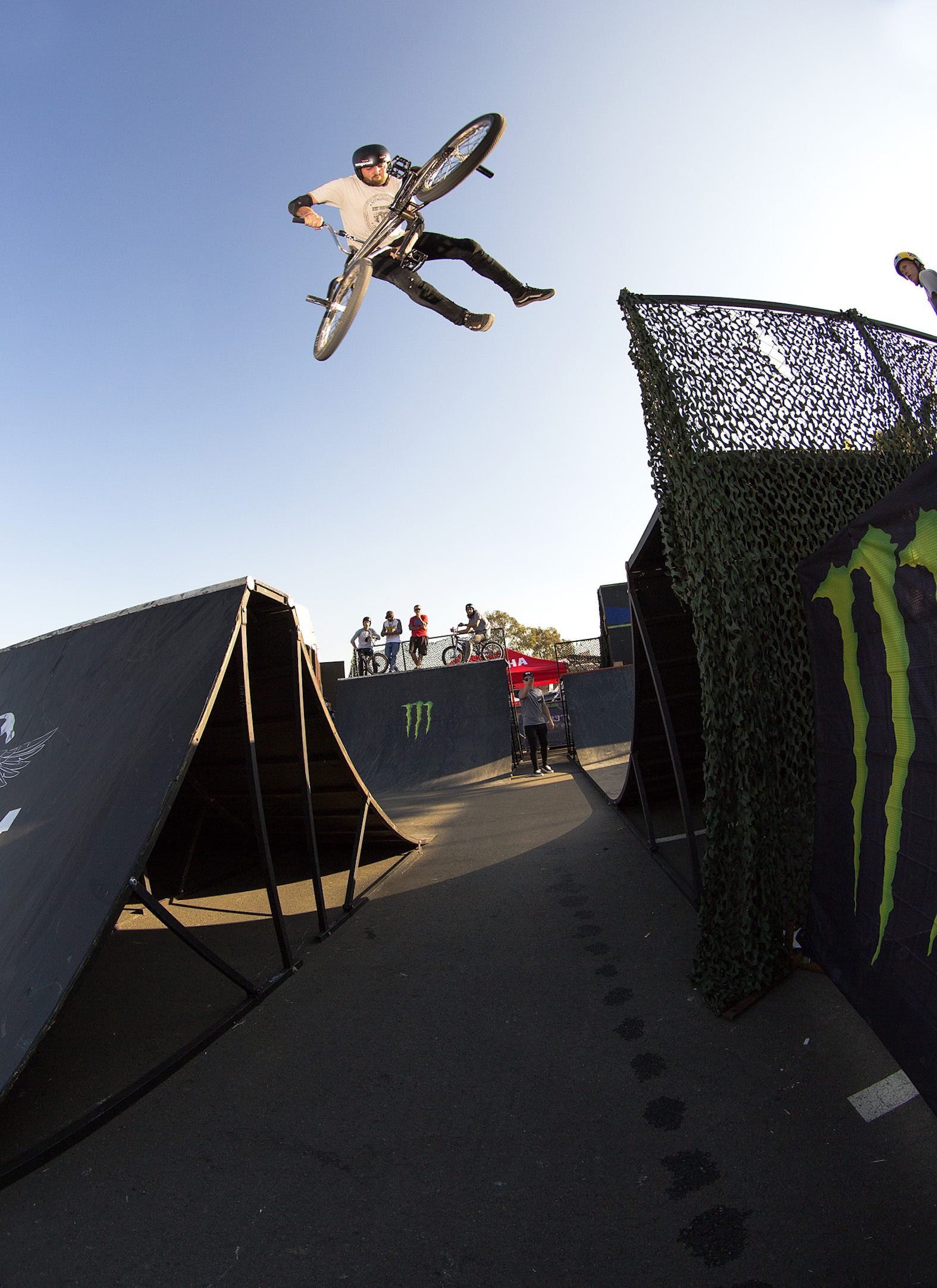 Kyle Kiewiet winning the Ramp Rodeo BMX Best Trick