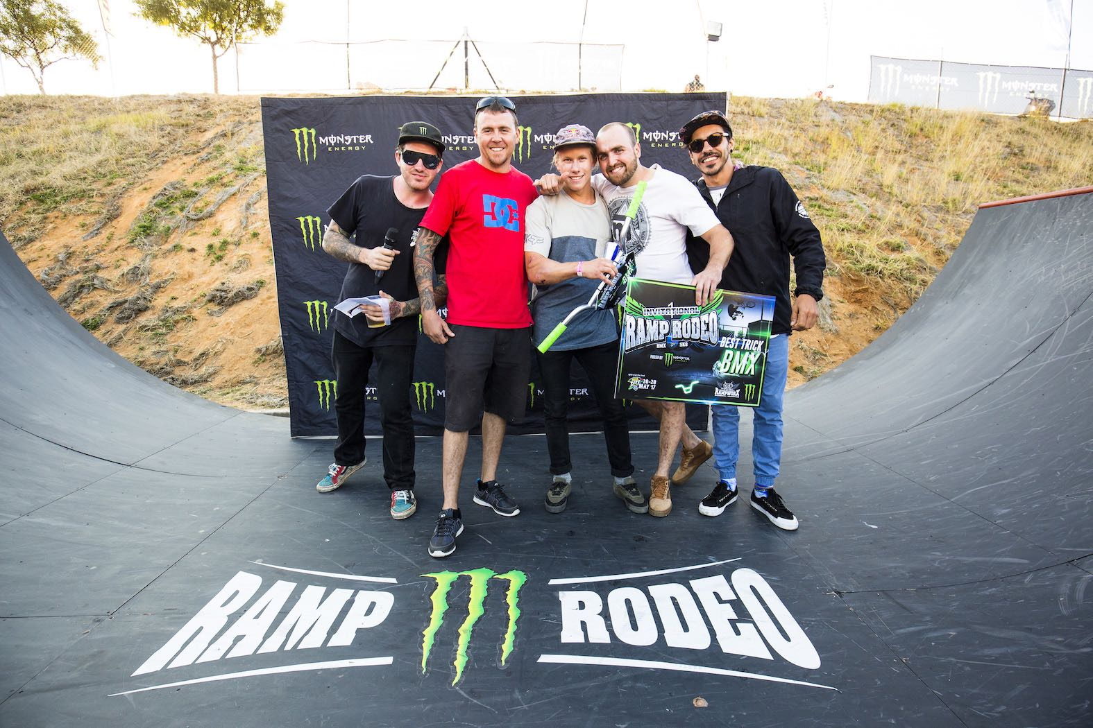 Ramp Rodeo Invitational 1 BMX Podium