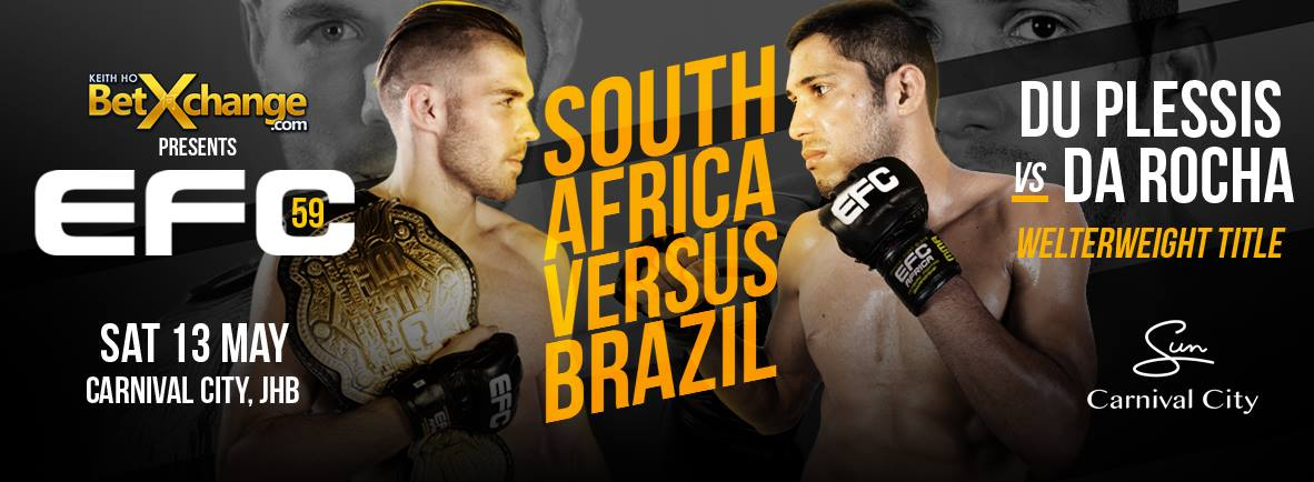 EFC 59 bring 12 exciting MMA bouts to the hexagon on 13 May