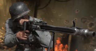 Armed with an arsenal of iconic weaponry, players are immersed in brutal gameplay as fast-paced, grounded combat returns in Call of Duty WWII Multiplayer,