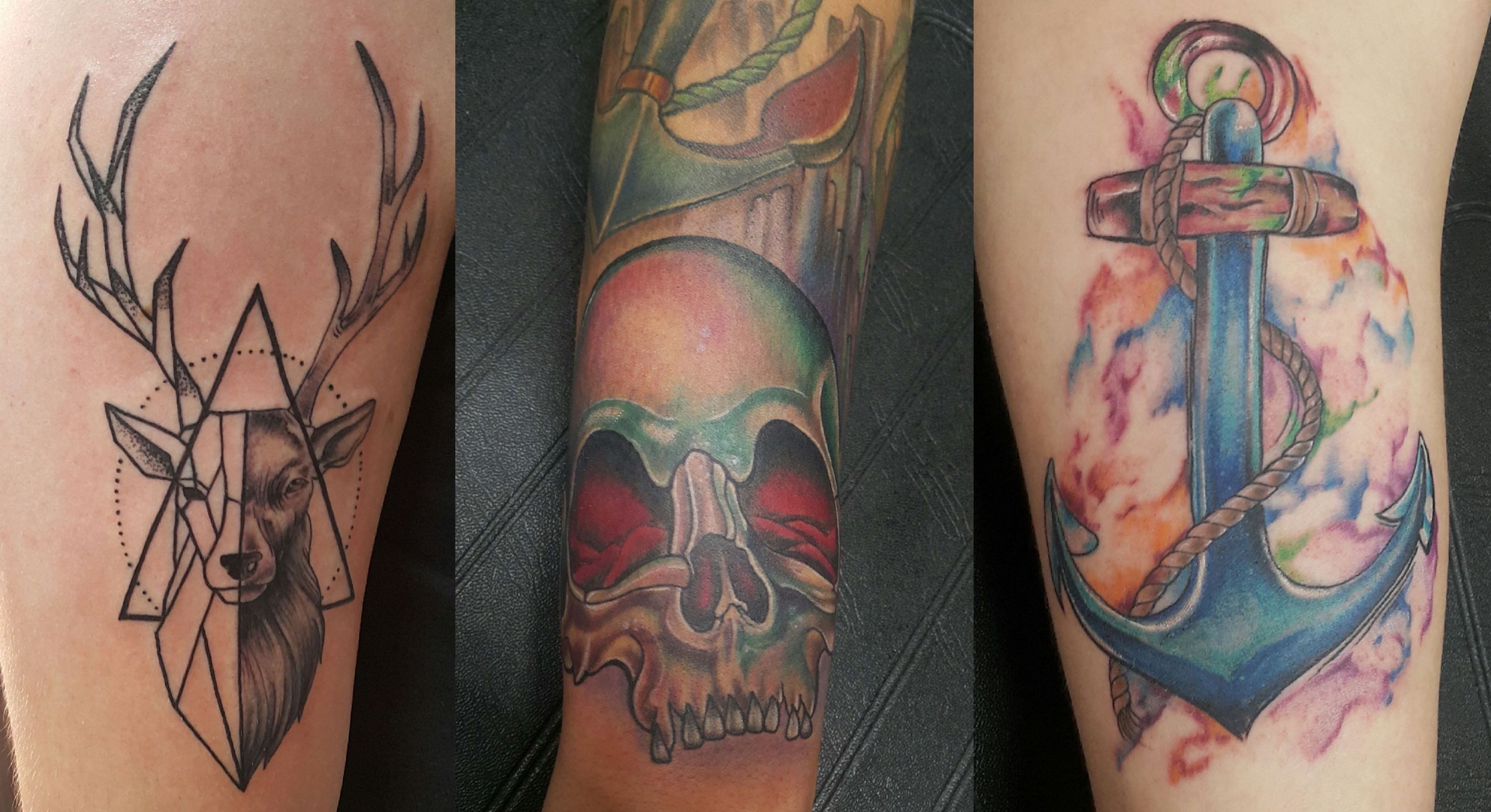 Tattoos down by Rudi Rautenbach of Inkaholic Tattoos