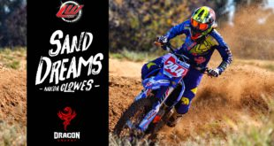 Exclusive video and interview feature with Motocross rider Nanda Clowes - #SandDreams