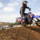 David Goosen racing his way to victory in the MX2 class at Round 5 of the SA motocross nationals.