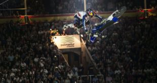 Details and Freestyle Motocross riders list for the 2017 Red Bull X-Fighters Madrid contest