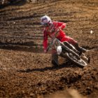 Richard van der Westhuizen racing his way to victory in the MX1 class at Round 5 of the SA motocross nationals.