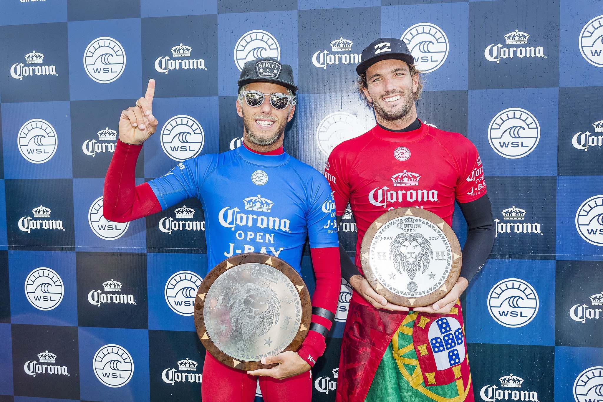 Corona Open J-Bay finals podium