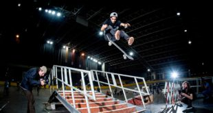 Moses Adams win the Red Bull Unlocked 2017 skateboarding event