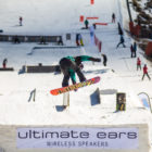 Mawa Jekot winning the Ultimate Ears Winter Whip Ladies Snowboarding division