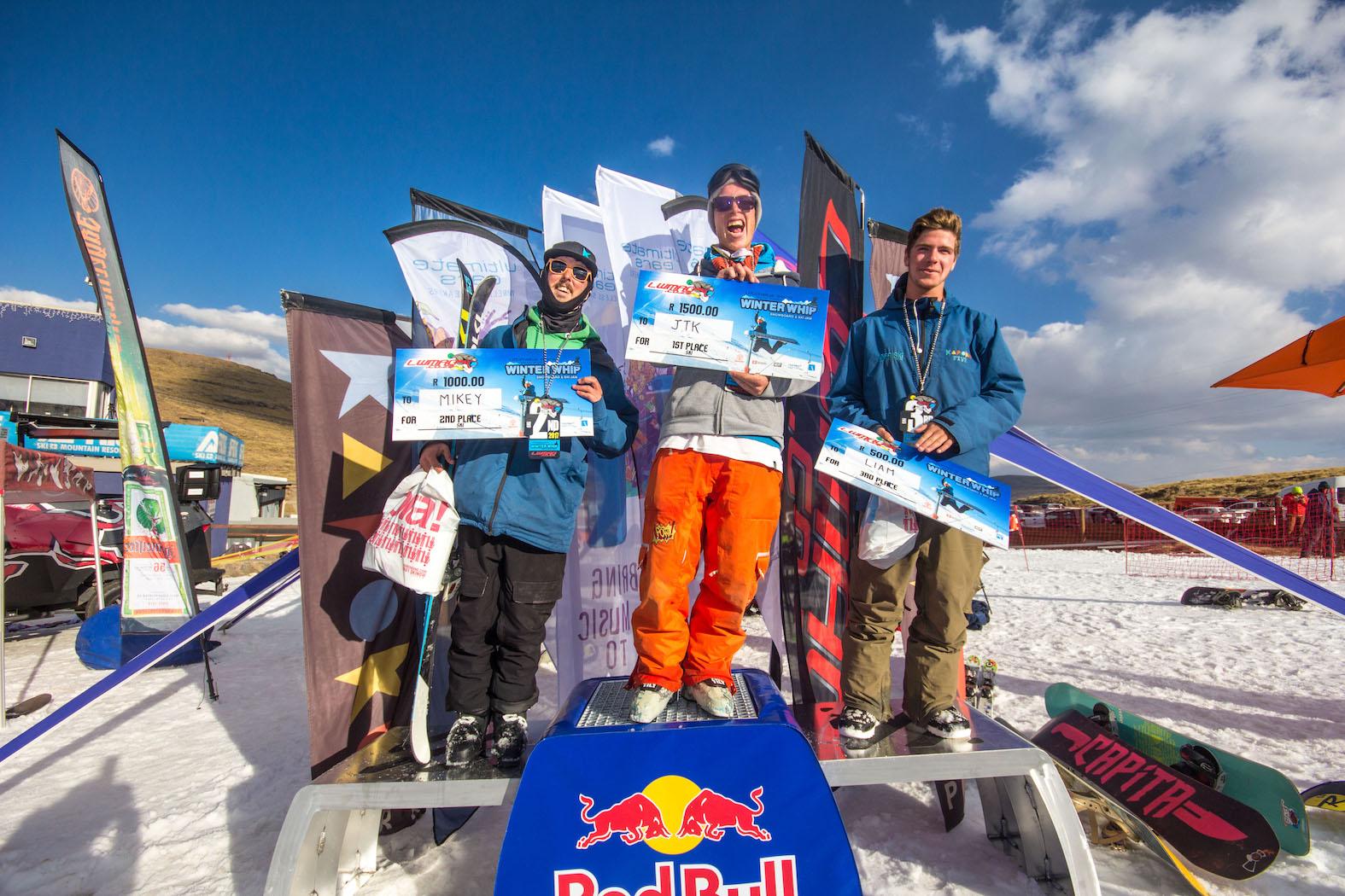 Ultimate Ears Winter Whip 2017 Ski Podium
