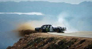 Watch the next evolution of the Ken Block award-winning Gymkhana series, Climbkhana: Pikes Peak, featuring his 1965 Ford Mustang Hoonicorn RTR V2.