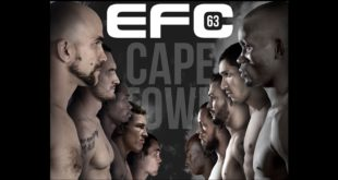EFC 63 bringing MMA action to Cape Town
