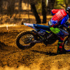 Anthony Raynard racing his way to victory in the MX2 division at the Holeshot Harry's motocross national