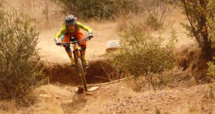 Keira Duncan taking the win at round 3 of the 2017 Bike Market Gauteng Enduro MTB Series