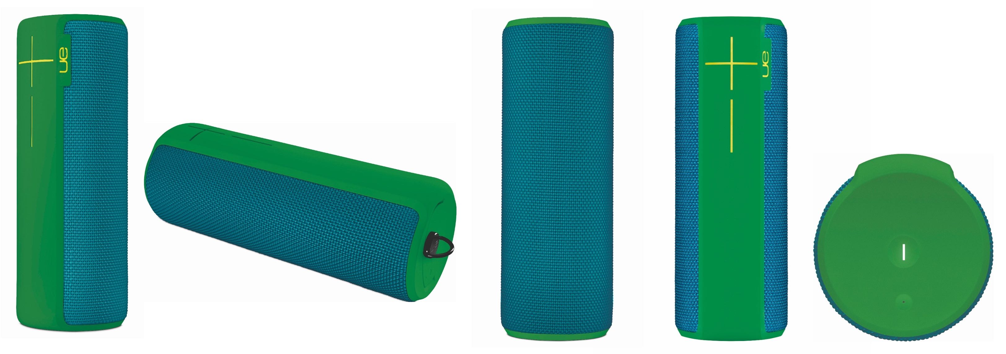 All angles of the Ultimate Ears BOOM 2 speaker