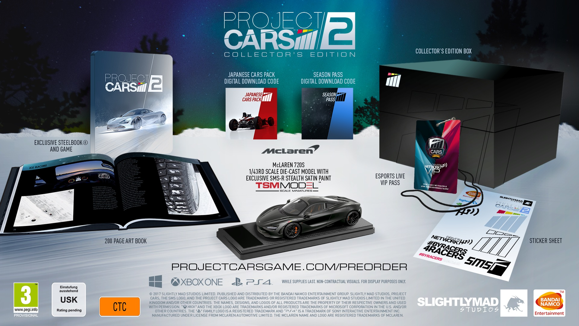 Stand a chance of winning this Project CARS 2 Collectors Edition for Xbox One