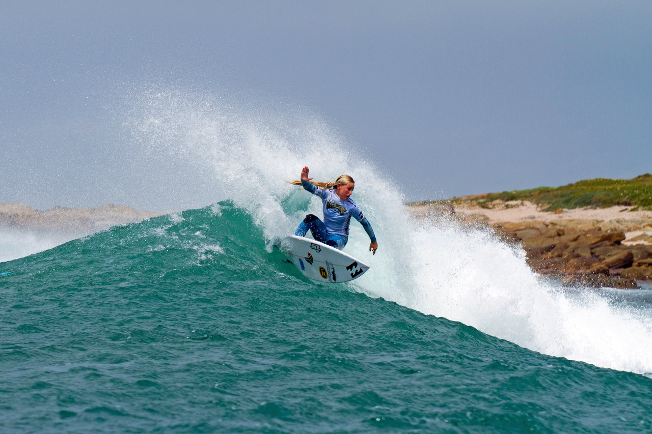 Surfing at its best the the Billabong SA Junior Champs