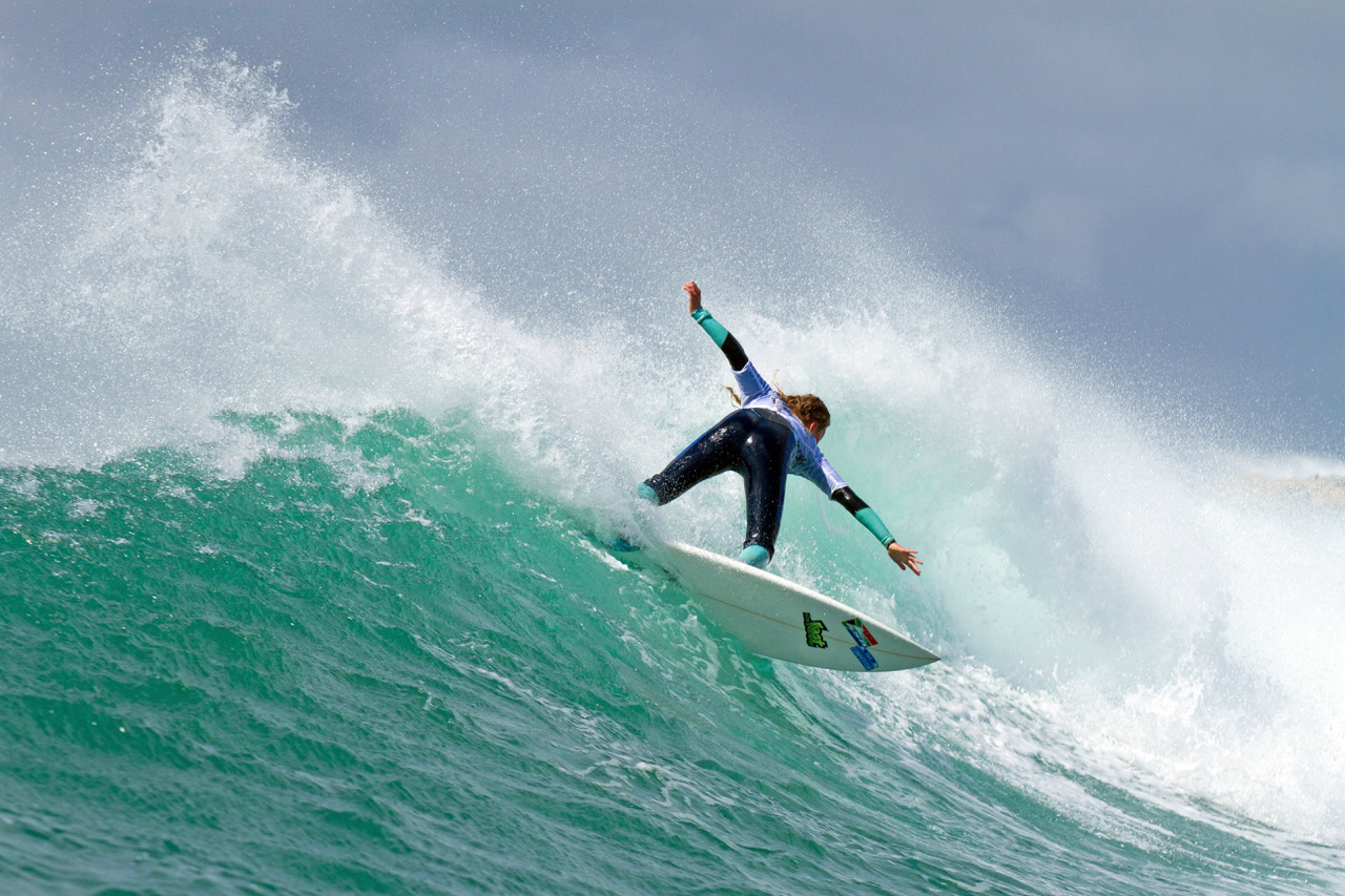 The 2018 Billabong SA Junior surfing champs are underway in JBay