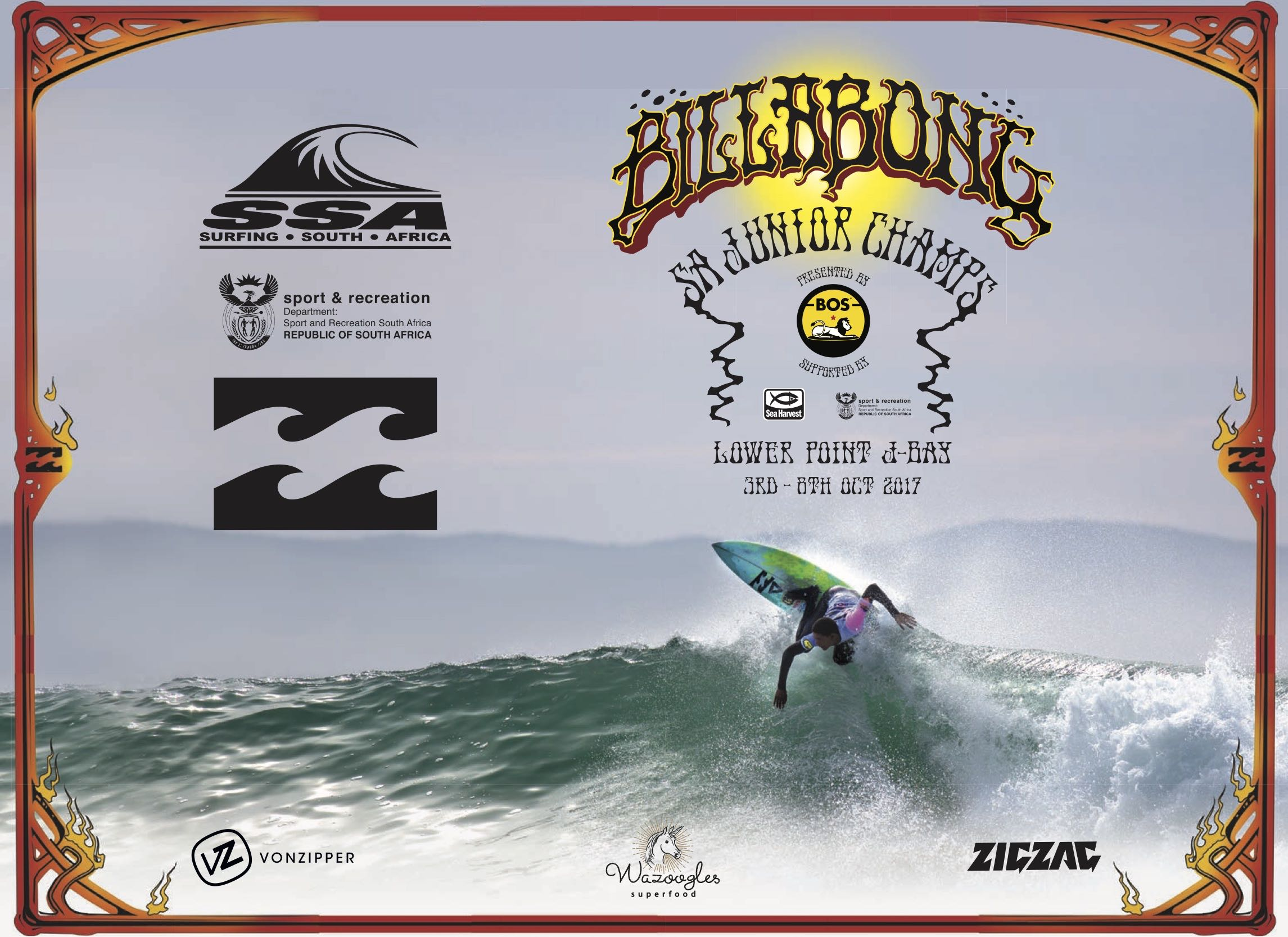 Details for the 2017 Billabong SA Junior Champs presented by BOS