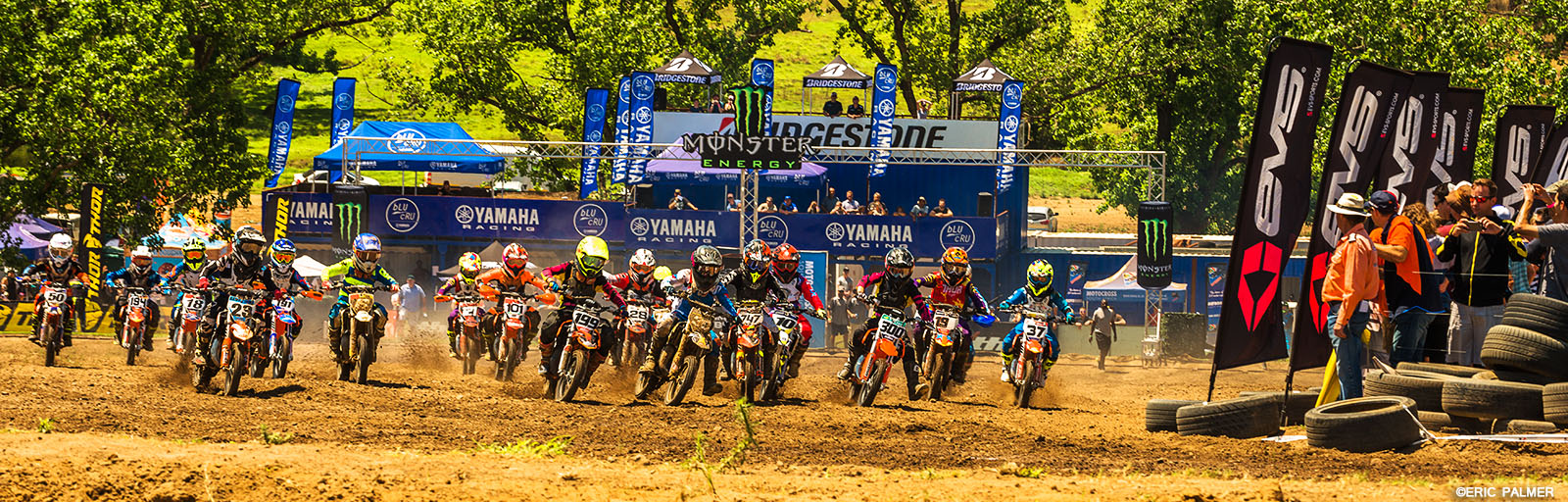 50cc racing at the motocross nationals at Terra Topia
