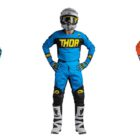 Colour option of the 2018 Thor MX Fuze motocross kit