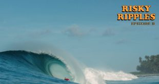 Episode 2 of Matt Bromley's 3-part surfing film Risky Ripples is live, featuring one of the heaviest waves in Indonesia.