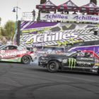 Drifting battled taking place in the Top 16 at the final round of the Supadrift series