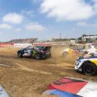 Rallycross action at Kilarney International Raceway