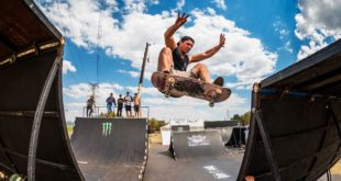 BMX and Skateboarding at its best at stop 3 of the Ramp Rodeo Invitational