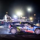 Johan Kristoffersson claims victory at Gymkhana Grid 2017