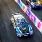 Petter Solberg places 2nd at Gymkhana Grid 2017