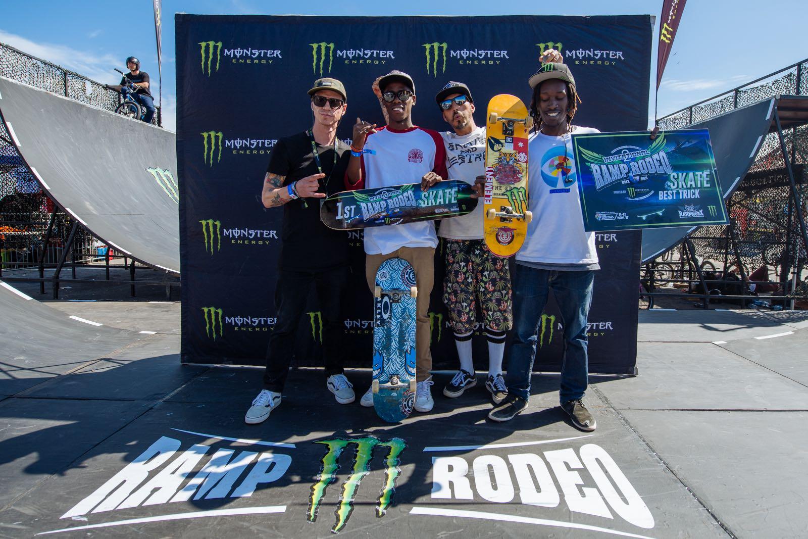 #RampRodeo 2 Skateboarding Podium
