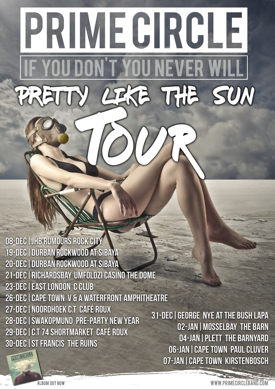 Catch Prime Circle during their Pretty Like The Sun Tour