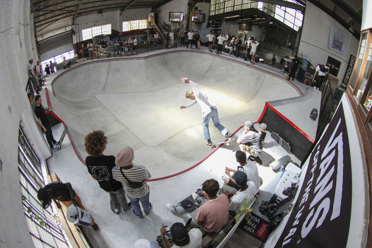 The Shred unveils its indoor skate bowl
