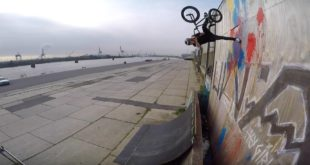 Spend time time with BMX rider, Greg Illingworth, as he does what he loves best - sessioning a quarter in Hamburg.